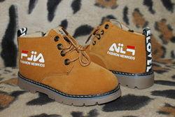 Детские демисезонные ботинки для мальчика или девочки р.25-30 маломерят