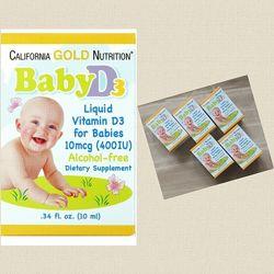 California Gold Nutrition, Витамин D3, вітамін Д3, витамин Д