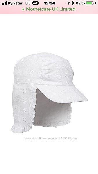 Mothercare панамка кепка супер на лето