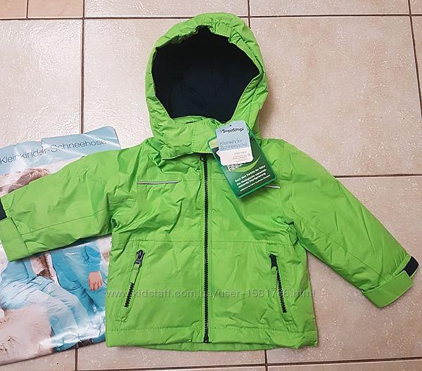 Зимняя куртка немецкого бренда Impidimpi 74-80