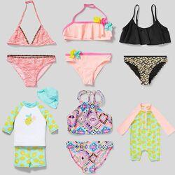 Детская пляжная мода C&A детские купальники