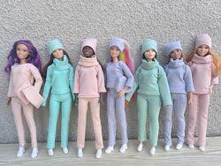 Одежда для кукол Барби, платье, обувь, сумочки для Барби