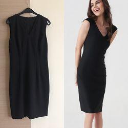 Платье коктельное чёрное Tahari