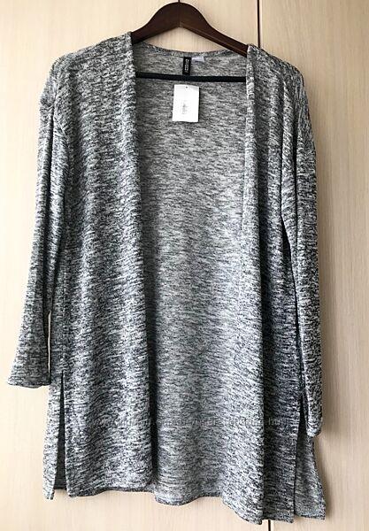 Кардиган H&M / S / серый меланж