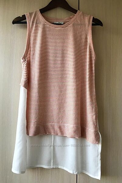 Полосатая туника, блуза Zara / M