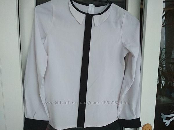 Блузка для школьницы 9-10 лет
