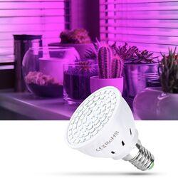 Лампа светодиодная полного спектра для выращивания растений, 80светодиодов