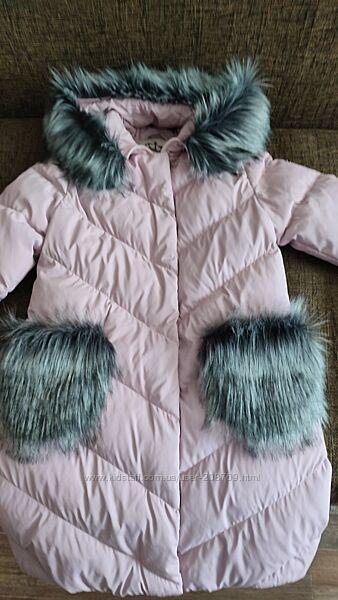 Наше любимое тёплое зимнее пальтишко
