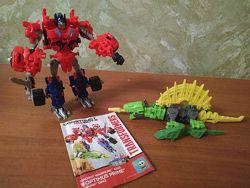 Hasbro Dinobot warrior Optimus prime