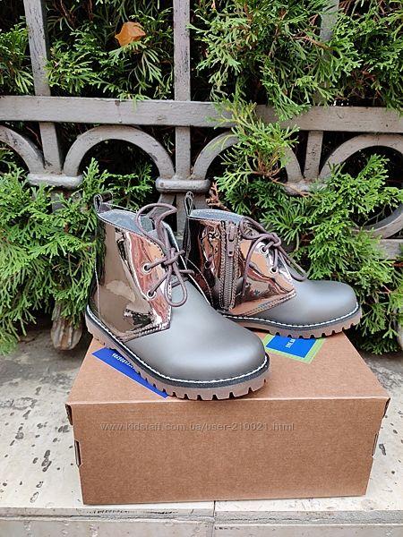 Стильні ботінки Evie Shoes з натуральної шкіри р.27-36