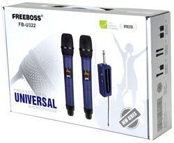 Радиомикрофон FREEBOSS FB-U322 Автономная беспроводной колонки системы