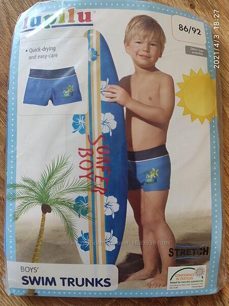 Пляжні плавки для хлопчиків Lupilu і Crivit