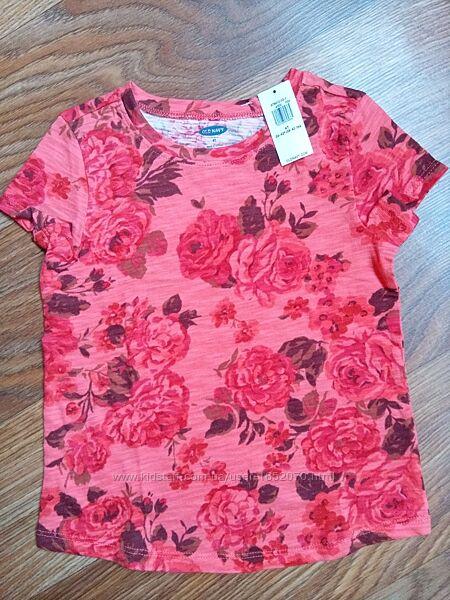 Новая футболка для девочки Old navy с биркой размер 4T