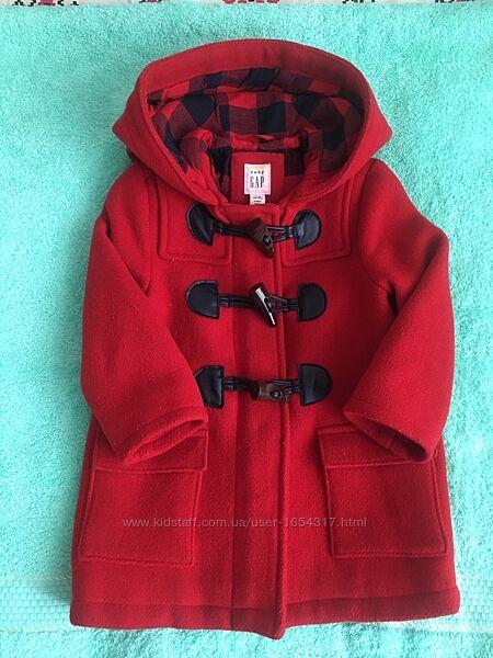 Детское пальто демисезонное