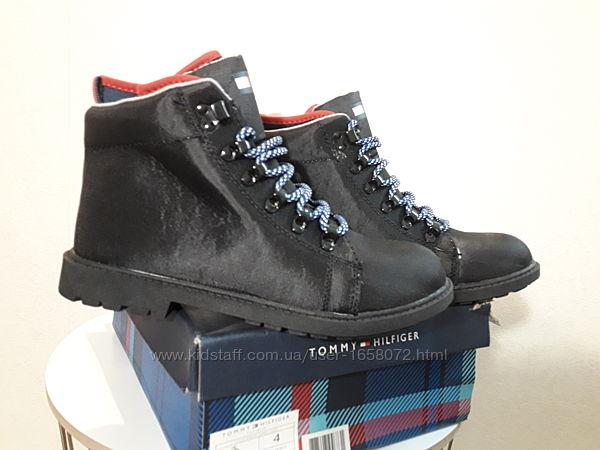 Tommy Hilfiger Boot. Стильные деми ботинки для мальчика. Размеры 35 и 36
