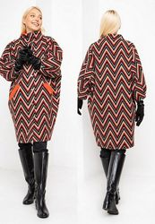 Демисезонное, кашемировое, полушерстяное оверсайз пальто