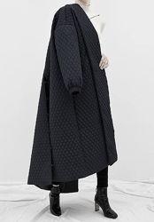Демисезонное синтепоновое , объемное оверсайз молодежное пальто-тренч