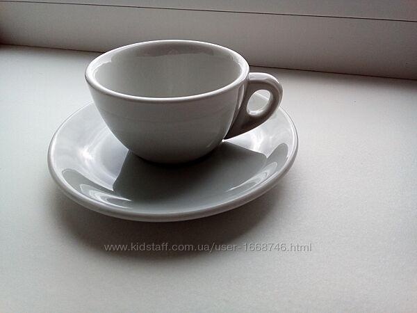 Италия - Винтаж - Старинная кофейная чашечка с блюдцем. Отличное состояние.