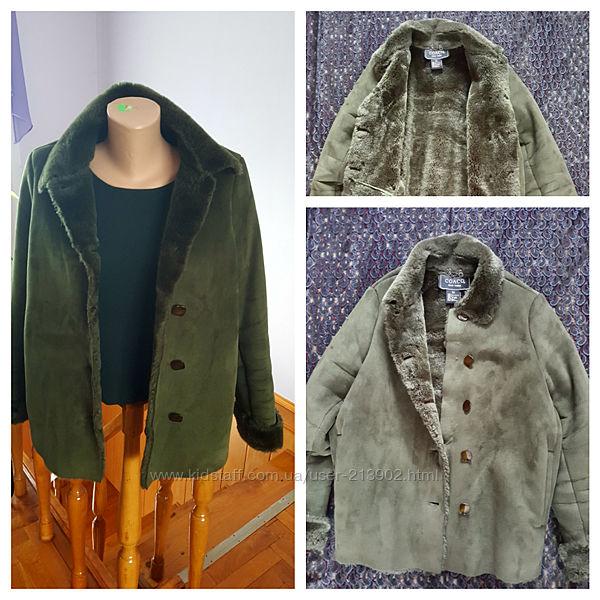 Дубленка куртка. Брендовая, стильная. Размер 48-50