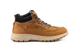 Зимние теплые кожаные мужские ботинки, желтые, р. 40-45, 031-Multi-shoes-2