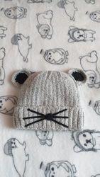 Зимняя шапка тёплая шапочка