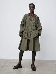 Плащ дощовик куртка накидка zara дождевик плащ дождя зара курточка