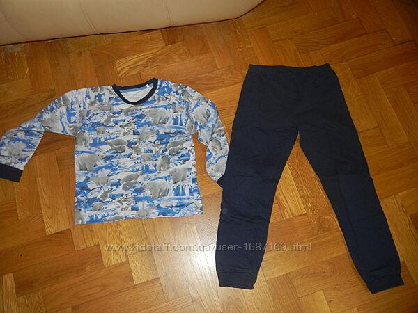 Пижама, Теплый Домашний костюм на мальчика CHICCO на 8 лет