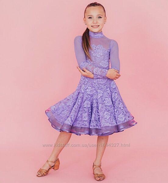 Бейсик , бейзик, рейтинговое платье для бальных танцев, рост 122-134
