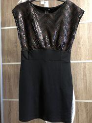 Нарядное платье в пайетки h&m
