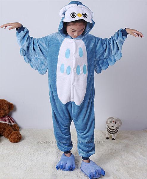 Кигуруми сова / пижама сова / Кігурумі сова / піжама сова Костюм кигуруми