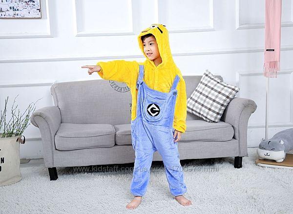 Кигуруми миньен / пижама кигуруми миньенов/ кігурумі для дітей підлітків