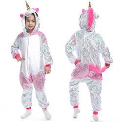Кигуруми единорог сияние / Пижама единорог для девочки / костюм кигуруми