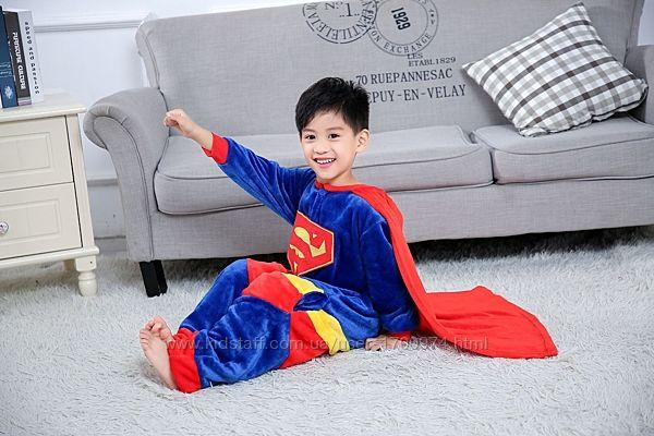 Кигуруми Супермен / пижама супермен / кігурумі супермена для хлопчиків
