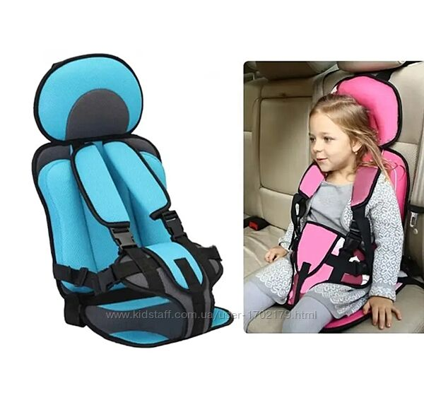 Детское автокресло 1 - 3 лет, от 3 - 12 лет, бескаркасное, кресло в авто