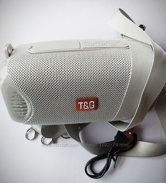 Мини колонка  TG-533 с Bluetooth портативная блютуз акустика