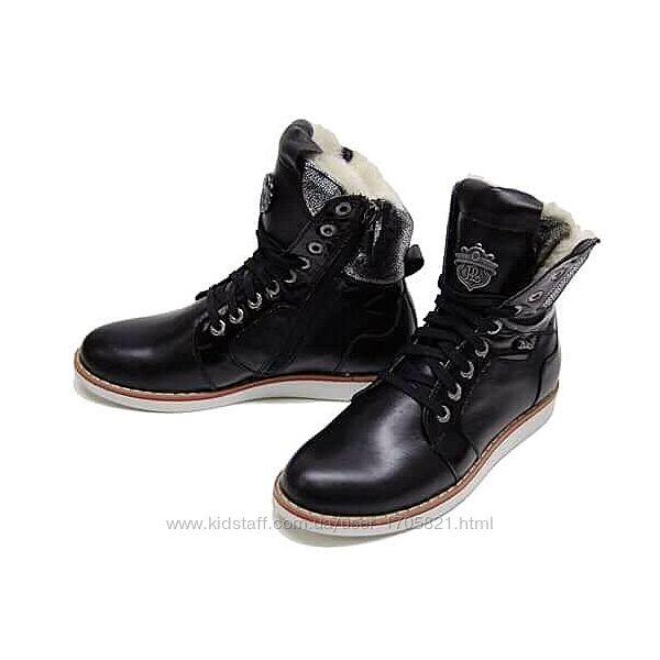 Ботиночки зимние для мальчика 28,29,30,31,32 размеры