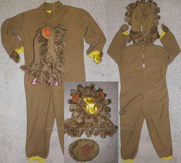 лев костюм карнавальный комбинезон кигуруми праздник утренник новый год