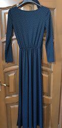 Длинное платье в пол, размер S наш 44