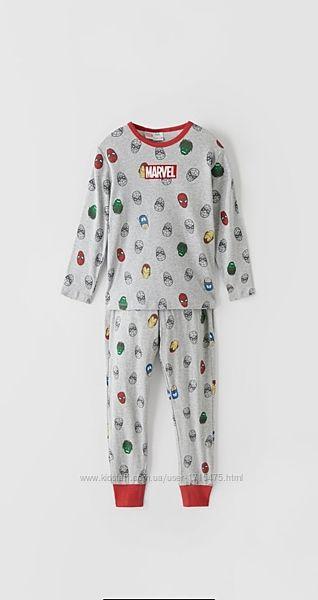 Пижама Zara Marvel 5-6, 11-12лет, оригинал