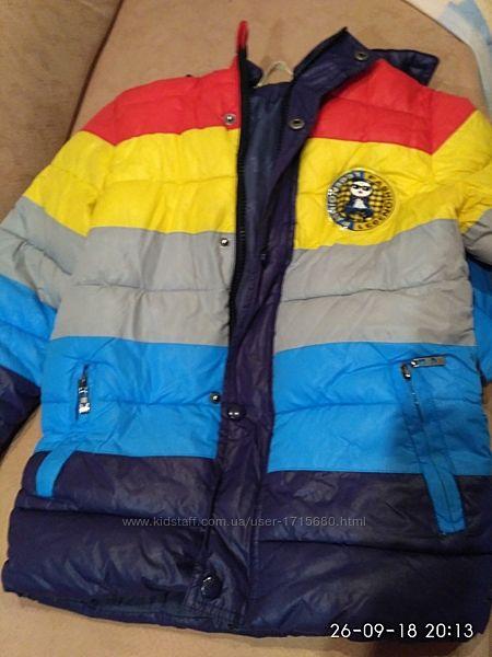 Курточка для мальчика  на весну на 6-7лет