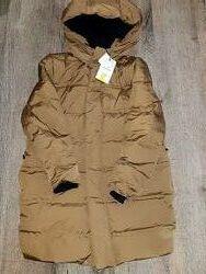 Пуховик пальто для мальчика ZARA,11-12,152 , СУПЕР ЦЕНА