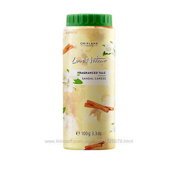 Многофункциональный парфюмированный тальк для тела аромат жасмина и сандала