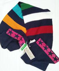 С шерстью мягкий неколючий шарф от United Colors of Benetton