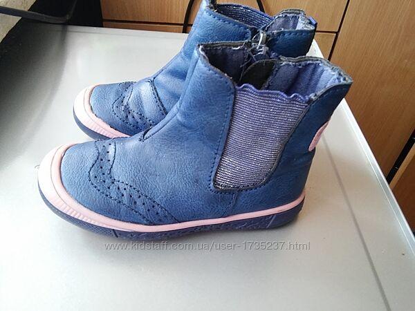 деми ботиночки фирмы Walkx KIds Германия на девочку, р.24