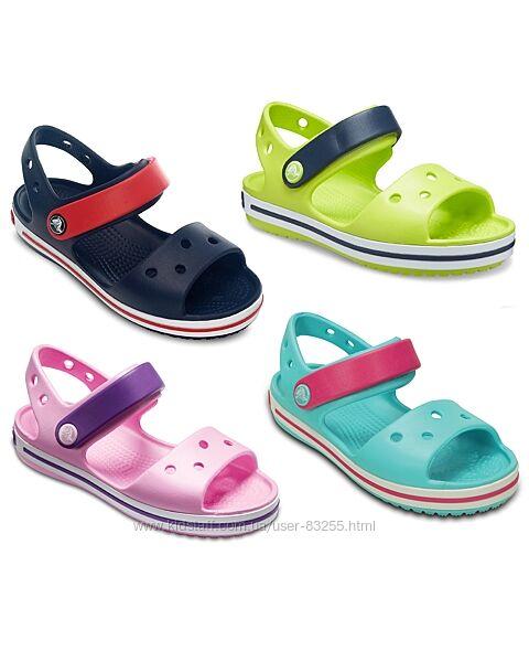 Босоножки сандалии Кроксы Крокбенд Crocs Crocband Sandal Kids
