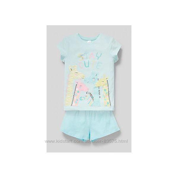Летние пижамки C&A Cunda для девочек