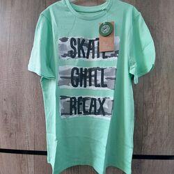 Хлопковая футболка C&A