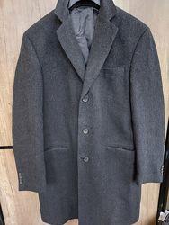 Фирменное полушерстяное пальто C&A
