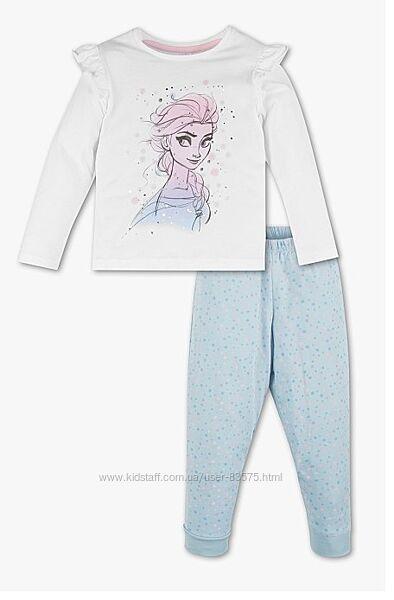 Фирменная хлопковая пижама C&A Disney