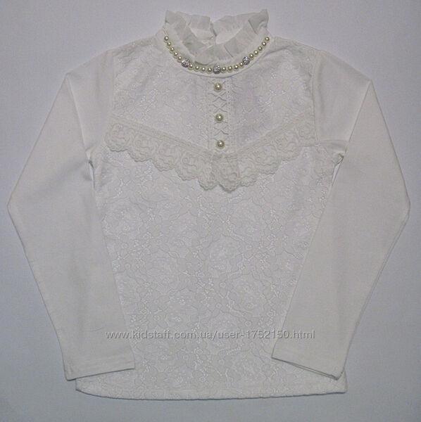 Детская блуза на девочку, школьная блуза 110 см - 150 см
